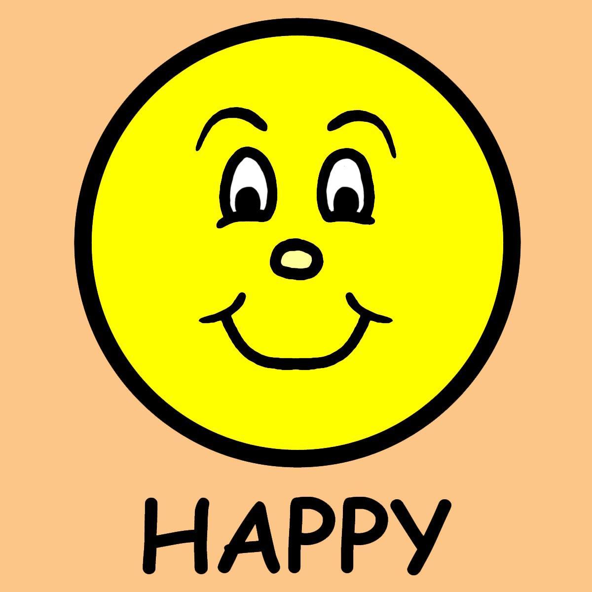 1200x1200 Happy Clipart Free