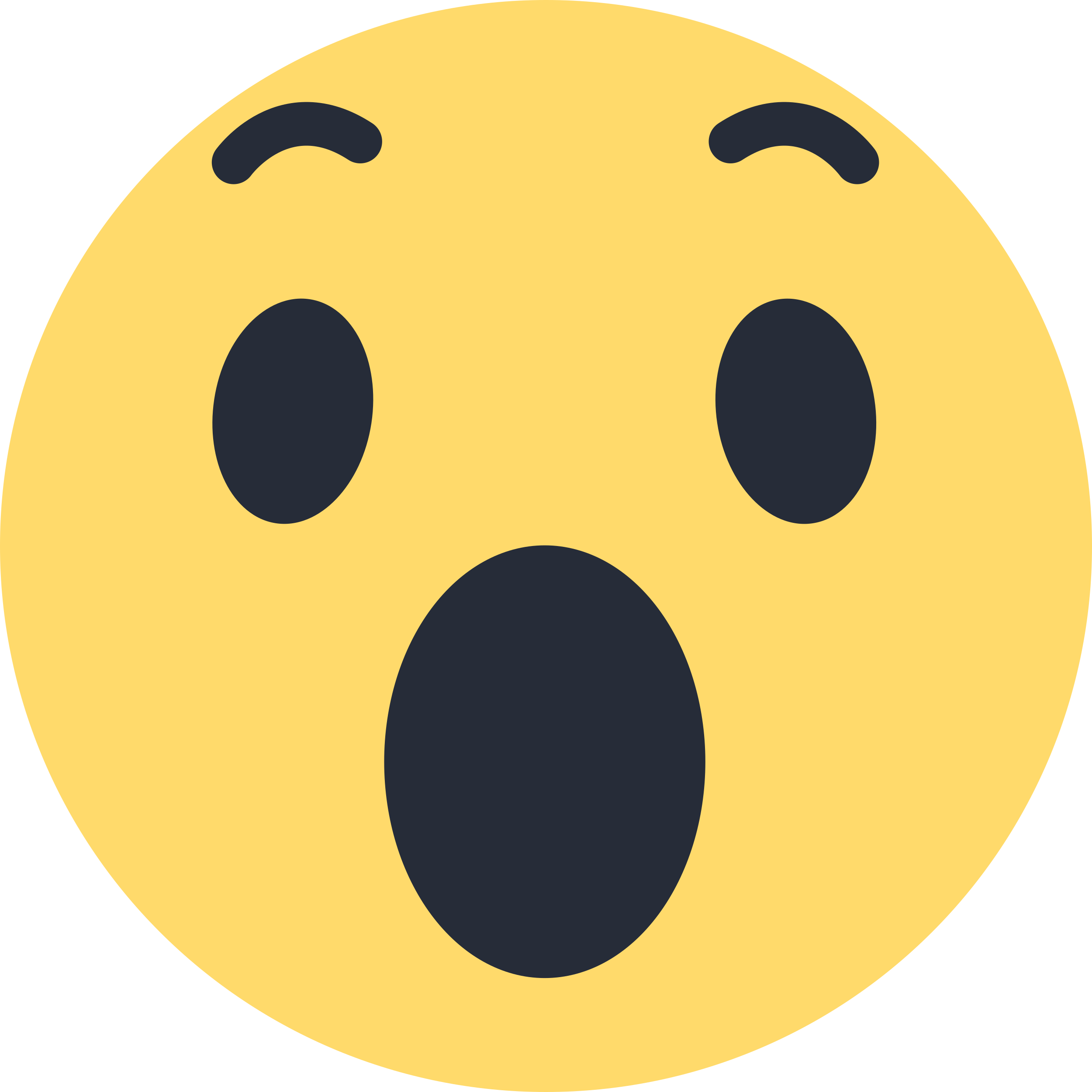 2500x2500 Facebook Wow Emoji Like Png