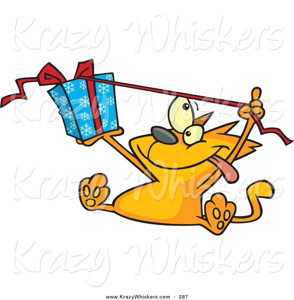 1024x1044 Critter Clipart Of A Spoiled Orange Kitty Cat Sitting And Pulling