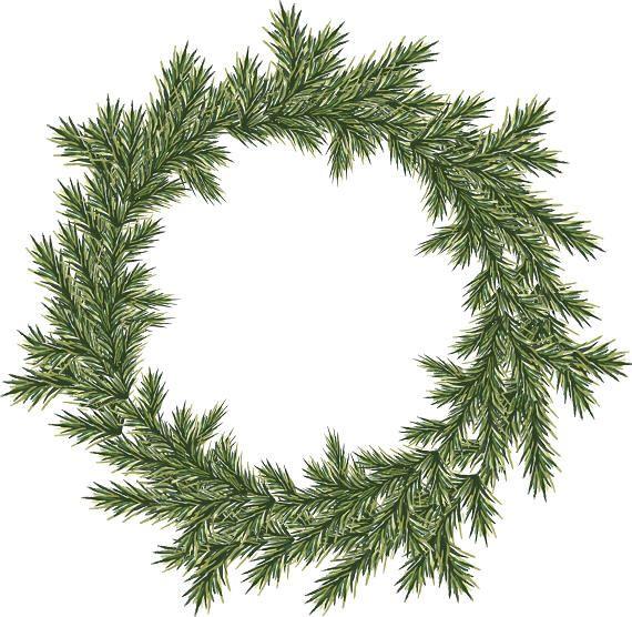 570x556 Best Christmas Wreath Clipart Ideas Clipart