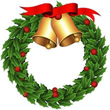 220x219 Holydays Clipart Christmas Wreath