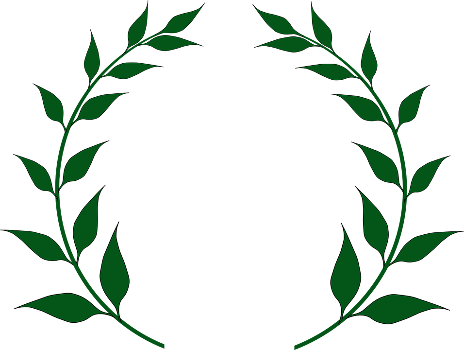 956x720 Laurel Wreath And Clipart