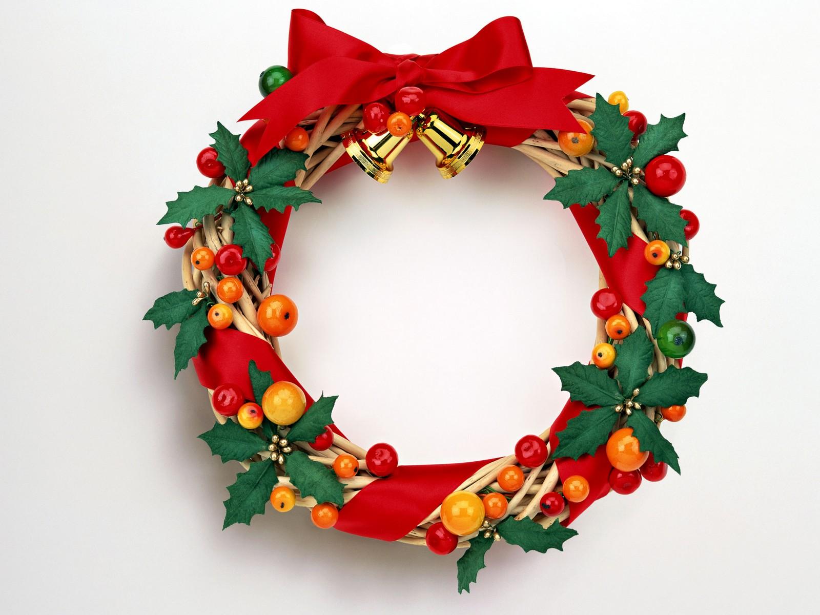 1600x1200 Christmas Wreath