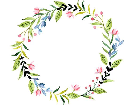 570x450 Wreath Clipart Plant