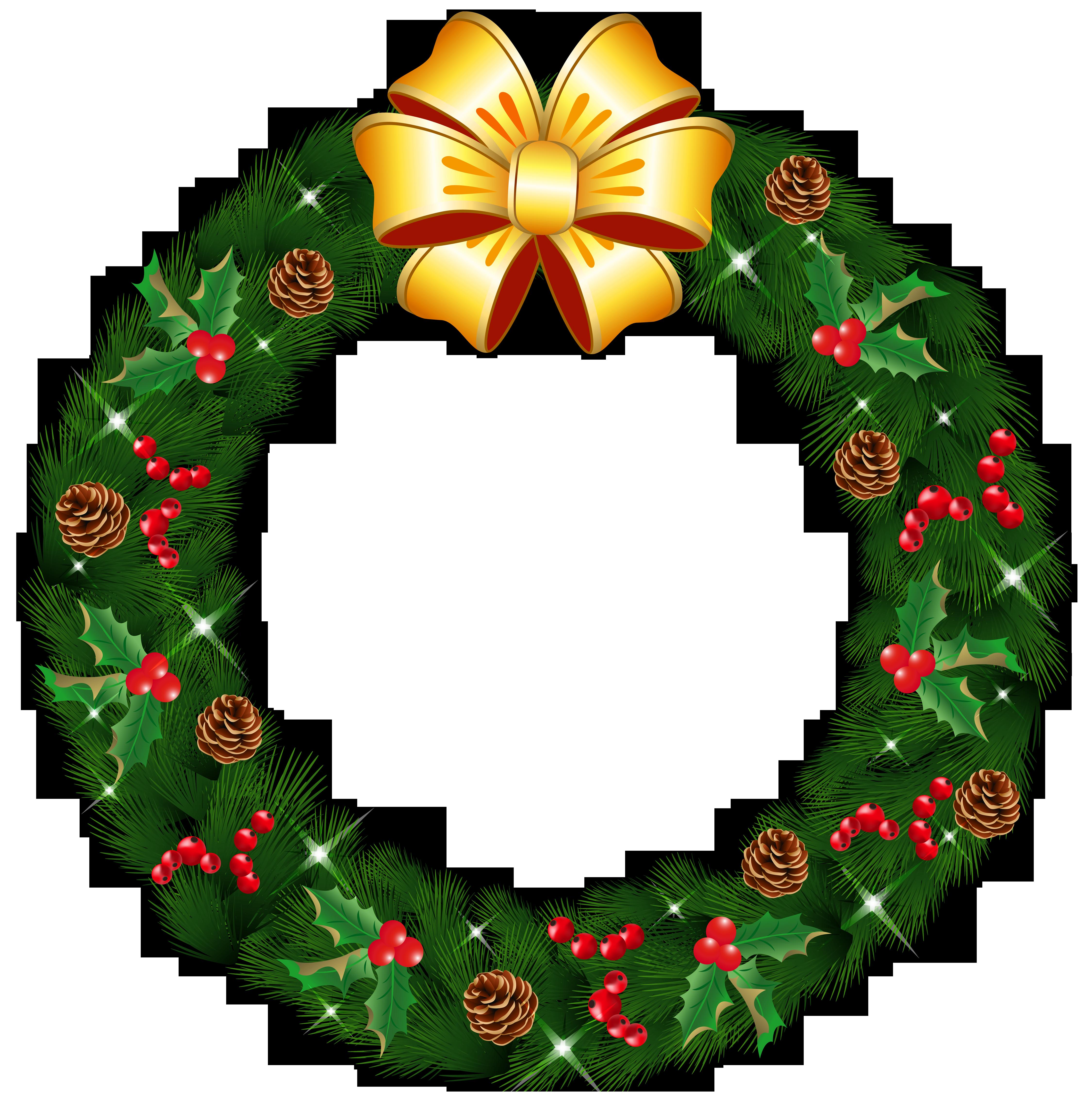 4500x4606 Wreath Clipart Transparent Background