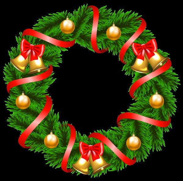 600x592 Christmas Wreath Clip Art Wreaths Wreaths, Clip