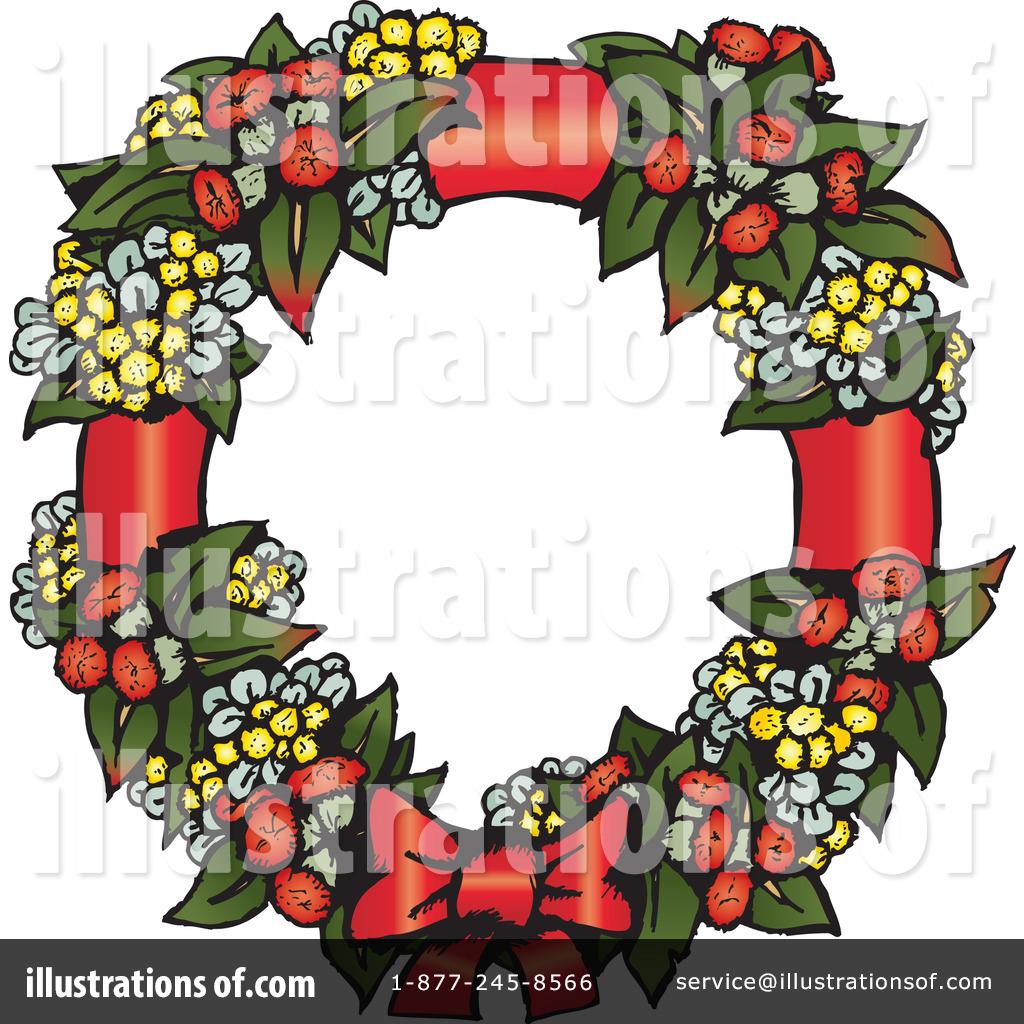 1024x1024 Christmas Wreath Clipart