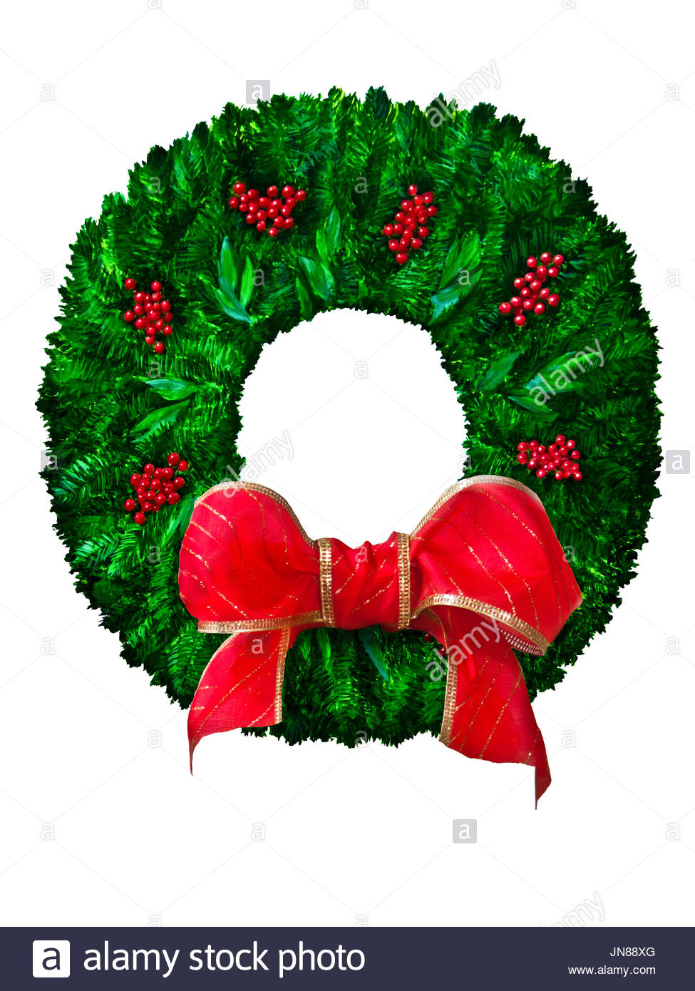 975x1390 Evergreen Wreath Stock Photos Amp Evergreen Wreath Stock Images