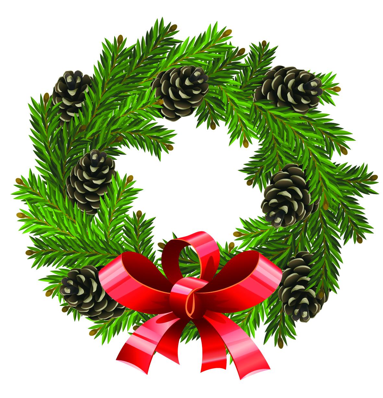 1181x1228 Vector Clipart Wreath