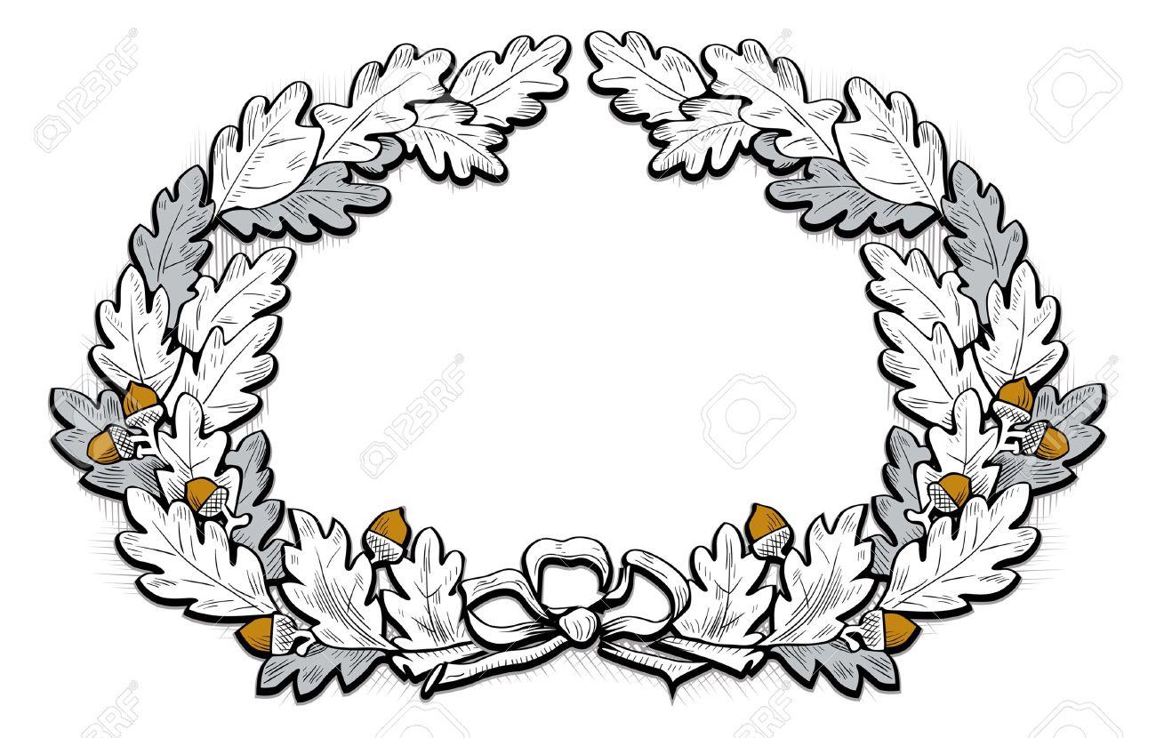 1300x830 Wreath Acorn Clipart, Explore Pictures