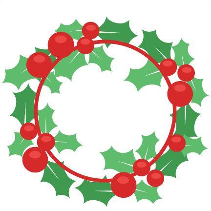 432x432 Christmas Wreaths Clipart
