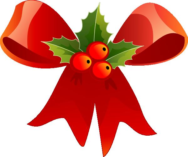 600x500 Christmas Holly Clipart