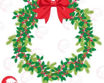 340x270 Christmas Wreath Etsy