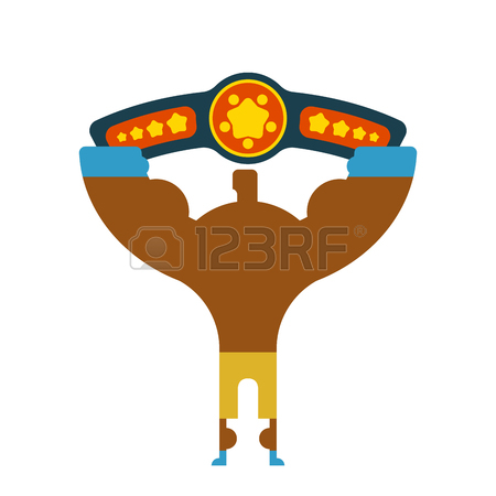 Wrestling Belt Clipart