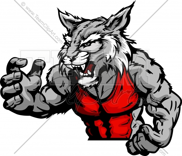 590x506 Wildcat Wrestling Clipart and More Wrestling Mascots.