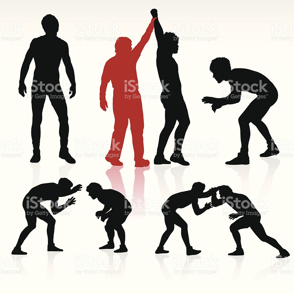 1024x1024 wrestling clip art vector – Cliparts