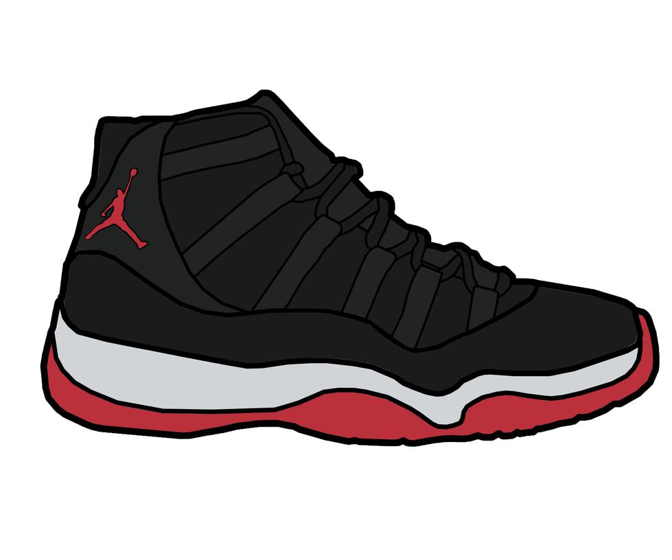 979x816 Jordan Shoes Clipart