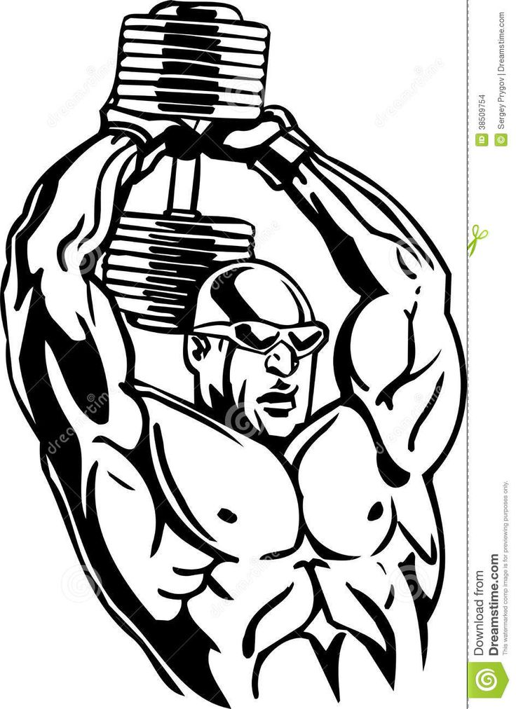 736x1012 17 Best Awesome Weight Lifting Clip Art! Images