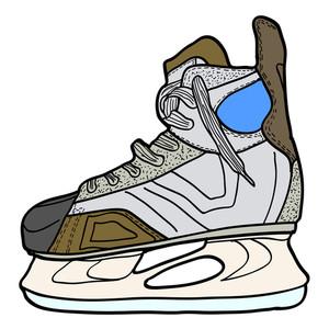 300x300 Skater Sketch Illustration Royalty Free Stock Image