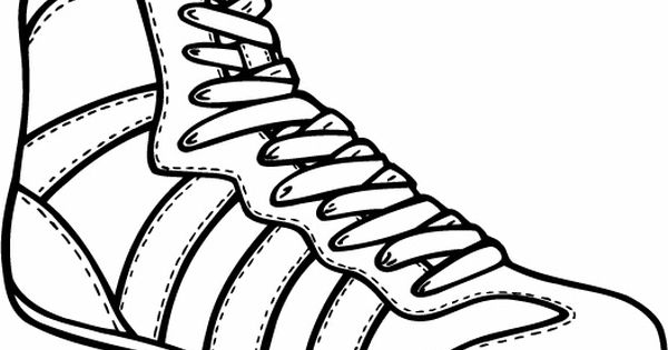 600x315 Sketches For Wrestling Shoes Sketch