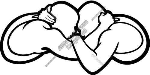 500x251 Wrestling Clipart Png
