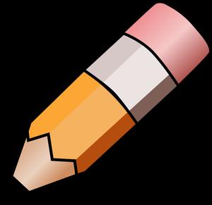 300x291 870 Pencil Writing Clipart Free Public Domain Vectors