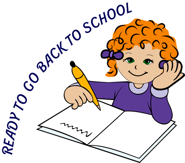 640x563 Children Writing Clipart Free Download Clip Art