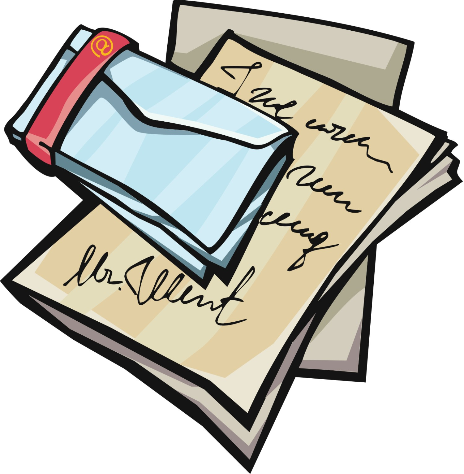 1500x1531 Letter Writing Clipart