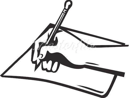 550x419 Pen Clipart Pen Paper