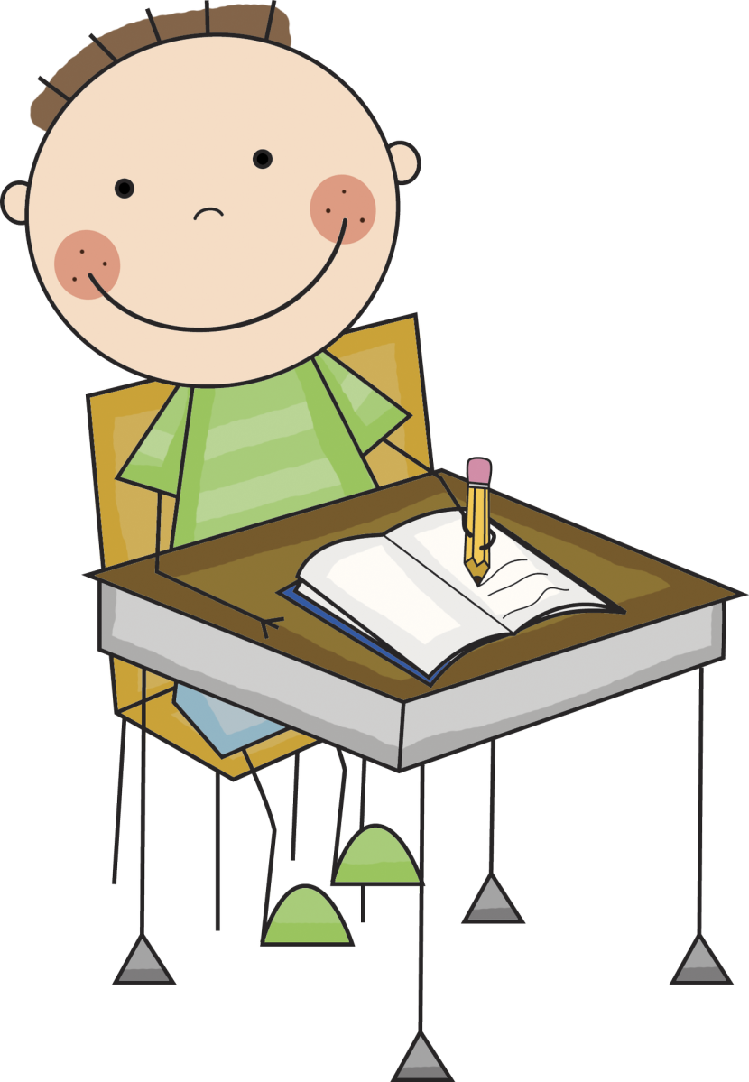 830x1199 Kids Writing Clipart