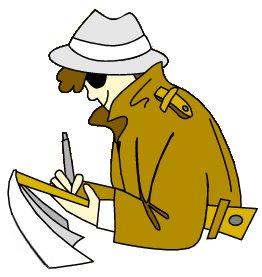 262x277 Detective Clipart
