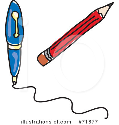 400x420 Pen Clipart Written Note