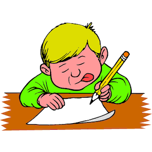300x300 Write Free Clip Art Children Writing Clipart Images 4