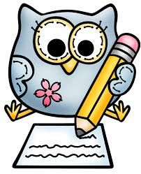 202x249 Owl Writing Cliparts