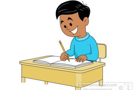 450x300 Student Writing Clipart 101 Clip Art