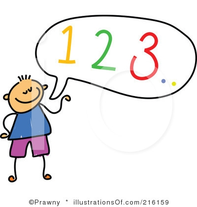 400x420 Writing Numbers Clipart