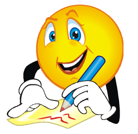 285x276 Clipart Writing