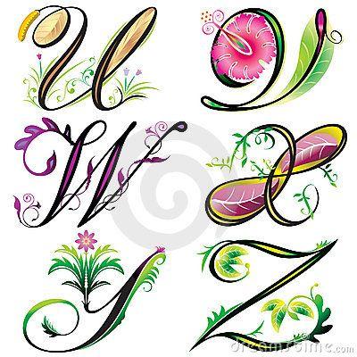 400x400 1130 Best Clipart Abecedarios Images Script Fonts