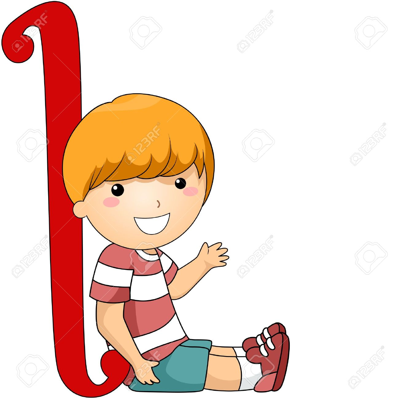 1300x1300 School Children Writing The Alphabet Clipart