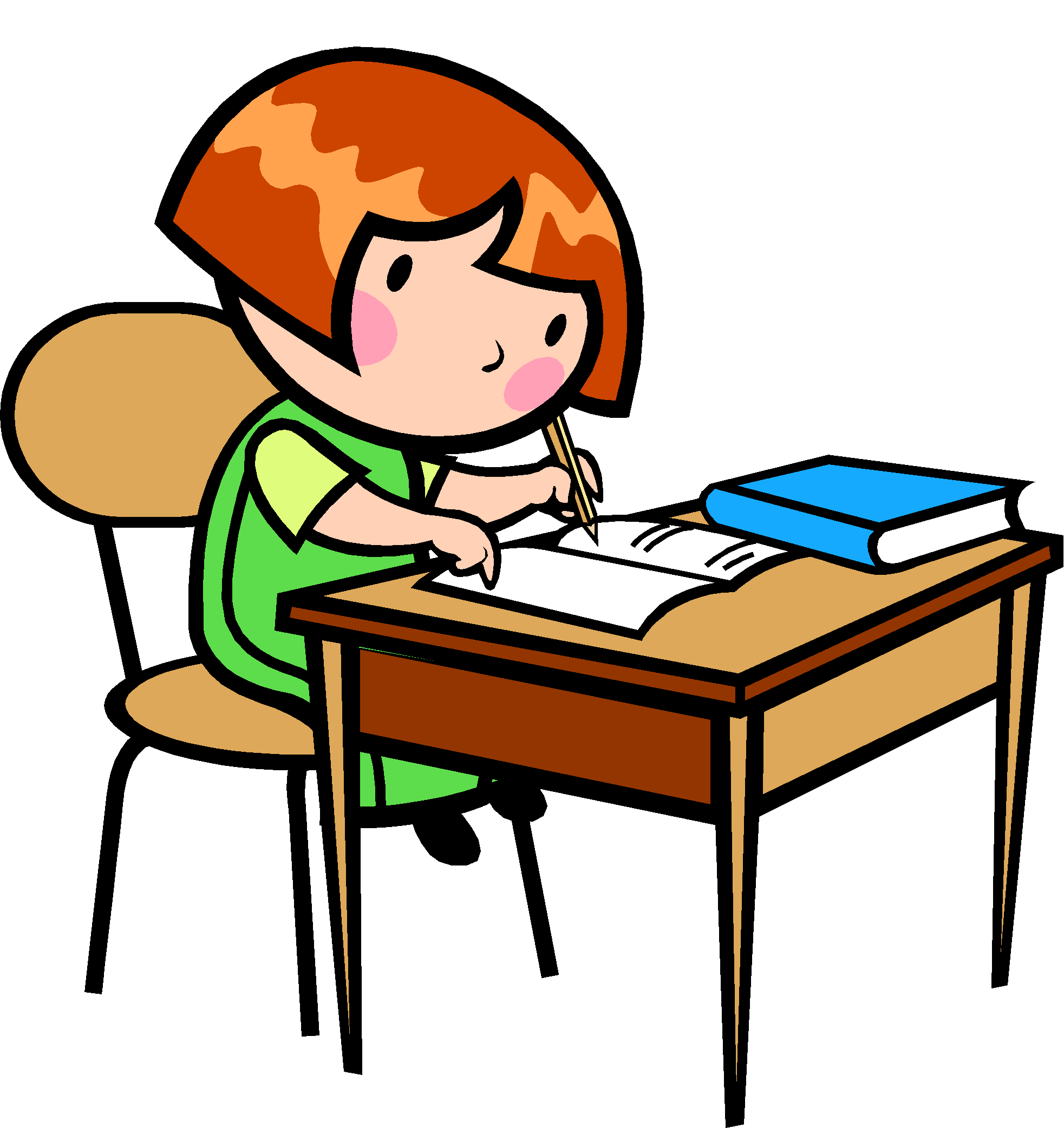 1965x2084 Kids Writing Cliparts