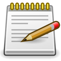 240x240 Notice Clipart Note Taking
