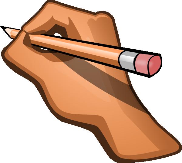 600x539 Pen Clipart Written Note