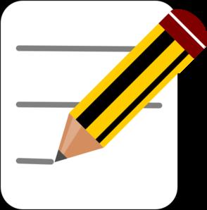 294x298 Pencil Notes Icon Clip Art