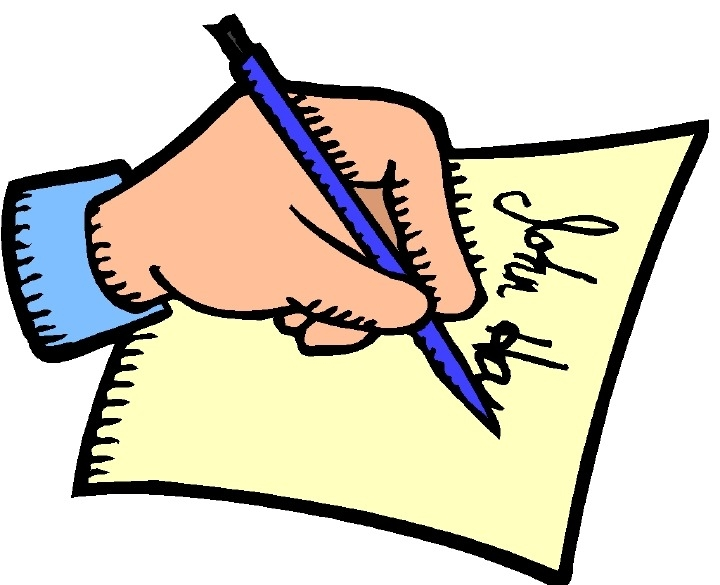 720x585 Writing Notes Clipart