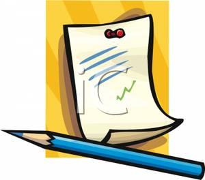 300x264 Written Notes Clipart Clipart Panda