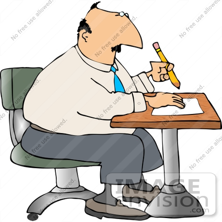 450x450 Business Man Writing Notes
