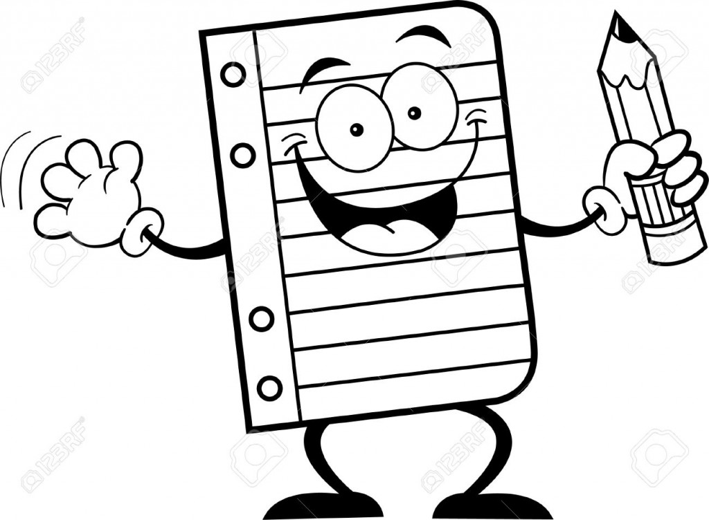 1024x752 Paper And Pencil Clipart Many Interesting Cliparts
