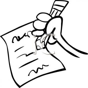 350x349 Obryadii00 Clip Art Writing Paper