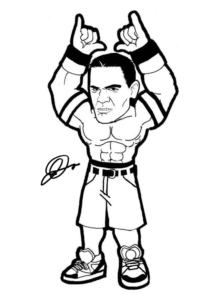 Wwe Coloring Pages | Free download best Wwe Coloring Pages on ...