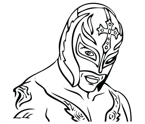It's just a graphic of Enterprising Wwe Printable Coloring Pages